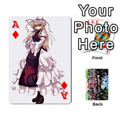 Ace Touhou Cards(updated) By Keifer   Playing Cards 54 Designs   Oeutec6k3acp   Www Artscow Com Front - DiamondA