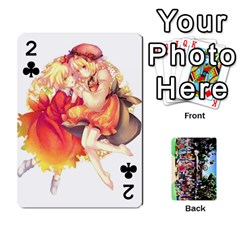 Touhou Cards(updated) By Keifer   Playing Cards 54 Designs   Oeutec6k3acp   Www Artscow Com Front - Club2
