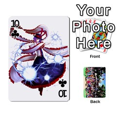 Touhou Cards(updated) By Keifer   Playing Cards 54 Designs   Oeutec6k3acp   Www Artscow Com Front - Club10