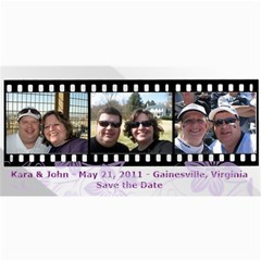 Save The Date Cards By Kara Bennis   4  X 8  Photo Cards   Ou0k23m15op5   Www Artscow Com 8 x4 Photo Card - 10