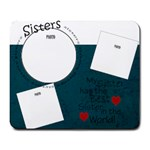 Sisters mousepad - Large Mousepad