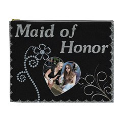 Maid Of Honor Xl Cosmetic Bag By Lil    Cosmetic Bag (xl)   Xv4d3hz2wi3z   Www Artscow Com Front