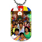 Jade Buddha - Pa Pa  - Dog Tag (Two Sides)