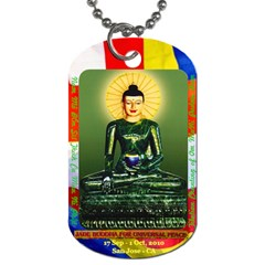 Jade Buddha   Huonggia By Phungm   Dog Tag (two Sides)   Hx70pkpc38tq   Www Artscow Com Back