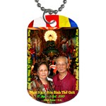 Jade Buddha - Pa Ma  - Dog Tag (Two Sides)