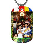 Jade Buddha - Ma`Ma  - Dog Tag (Two Sides)
