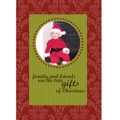 Family & Friends 5x7 Christmas Card By Klh   Greeting Card 5  X 7    40sf3yppuedm   Www Artscow Com Front Cover