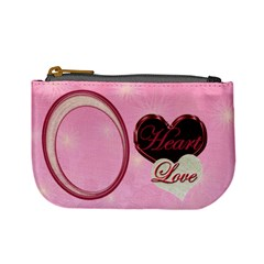 Heart Moon 18a Coin Purse By Ellan   Mini Coin Purse   W808d6uzdrk1   Www Artscow Com Front