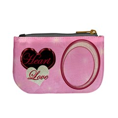 Heart Moon 18a Coin Purse By Ellan   Mini Coin Purse   W808d6uzdrk1   Www Artscow Com Back