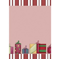 Christmas Parcels Christmas Card By Catvinnat   Greeting Card 5  X 7    7mqsg4ty6698   Www Artscow Com Back Cover