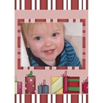 Christmas Parcels Christmas Card - Greeting Card 5  x 7