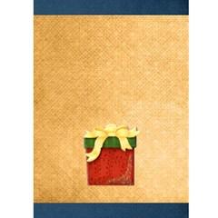 Fairy Lights Joy  Christmas Card By Catvinnat   Greeting Card 5  X 7    Qb8b7euhio2c   Www Artscow Com Back Cover