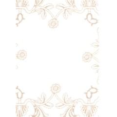 Midnight Blue Lace Christmas Card By Catvinnat   Greeting Card 5  X 7    Kbd0qktg34am   Www Artscow Com Back Inside