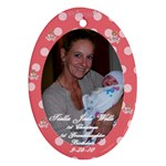 1st Granddaughter - Ornament (Oval)