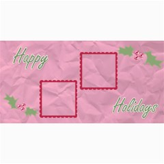 Holly Christmas Card By Martha Meier   4  X 8  Photo Cards   4x5fhgjrckep   Www Artscow Com 8 x4 Photo Card - 3