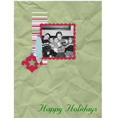 Happy Holidays Card By Martha Meier   Greeting Card 4 5  X 6    Opox3fhfxw8s   Www Artscow Com Front Cover