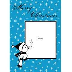 Merry Christmas   Custom Greeting Card 5  X 7  By Carmensita   Greeting Card 5  X 7    2lacghkmszej   Www Artscow Com Front Cover