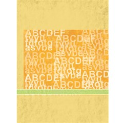 Abc Card By Wood Johnson   Greeting Card 4 5  X 6    V8il3x0ftsd6   Www Artscow Com Back Cover