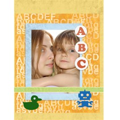 Abc Card By Wood Johnson   Greeting Card 4 5  X 6    V8il3x0ftsd6   Www Artscow Com Front Cover
