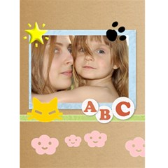 Abc Card By Wood Johnson   Greeting Card 4 5  X 6    6kzo2wfx3vn8   Www Artscow Com Front Cover