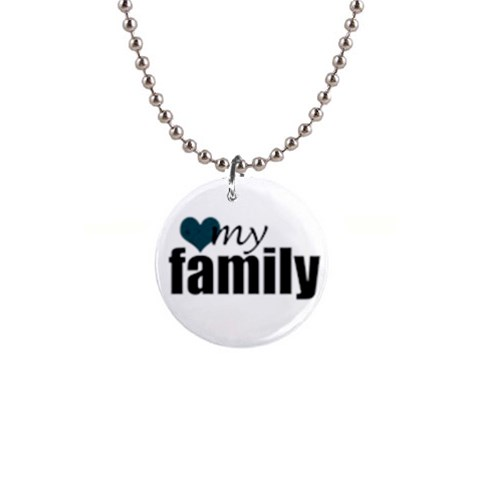 My Family Necklace By Amanda Bunn   1  Button Necklace   Bvozkewjarp7   Www Artscow Com Front
