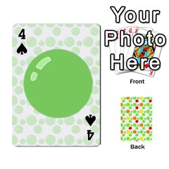 Pl Cards Balloon By Galya   Playing Cards 54 Designs   Crma2fwyuvqs   Www Artscow Com Front - Spade4