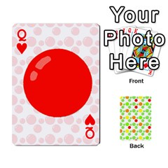 Queen Pl Cards Balloon By Galya   Playing Cards 54 Designs   Crma2fwyuvqs   Www Artscow Com Front - HeartQ