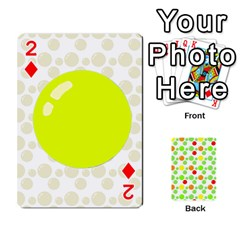 Pl Cards Balloon By Galya   Playing Cards 54 Designs   Crma2fwyuvqs   Www Artscow Com Front - Diamond2