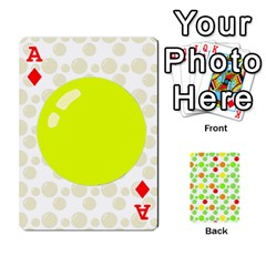 Ace Pl Cards Balloon By Galya   Playing Cards 54 Designs   Crma2fwyuvqs   Www Artscow Com Front - DiamondA
