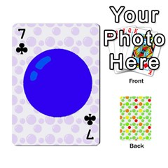 Pl Cards Balloon By Galya   Playing Cards 54 Designs   Crma2fwyuvqs   Www Artscow Com Front - Club7