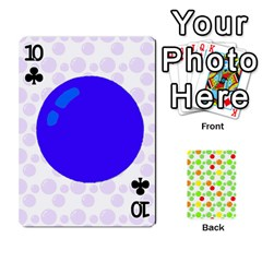 Pl Cards Balloon By Galya   Playing Cards 54 Designs   Crma2fwyuvqs   Www Artscow Com Front - Club10