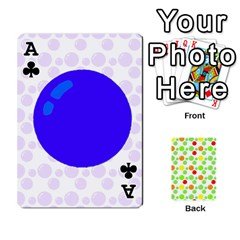 Ace Pl Cards Balloon By Galya   Playing Cards 54 Designs   Crma2fwyuvqs   Www Artscow Com Front - ClubA