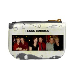 Texas Buddies By Kathy Rayhons   Mini Coin Purse   6vn55wloygle   Www Artscow Com Back