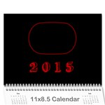 12 month calendar (multiple photos) Multi Color - Wall Calendar 11  x 8.5  (12-Months)