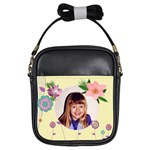 Girls Flower Sling Purse - Girls Sling Bag