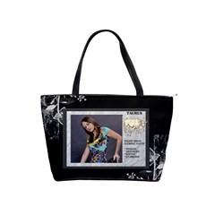 Taurus Zodiac Shoulder Bag By Lil    Classic Shoulder Handbag   2uxhsxhprzr3   Www Artscow Com Front