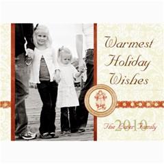 Holiday Collection 1 By April Williams   5  X 7  Photo Cards   V8n8fd09neyr   Www Artscow Com 7 x5 Photo Card - 1