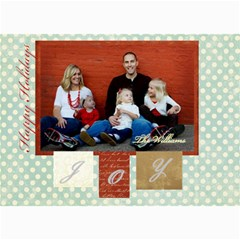 Holiday Collection 1 By April Williams   5  X 7  Photo Cards   V8n8fd09neyr   Www Artscow Com 7 x5 Photo Card - 2