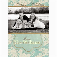Holiday Collection 1 By April Williams   5  X 7  Photo Cards   V8n8fd09neyr   Www Artscow Com 7 x5 Photo Card - 6