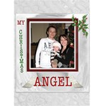 My Christmas Angel Card - Greeting Card 5  x 7