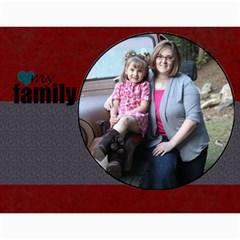 Simple Family Calendar 12 Month By Amanda Bunn   Wall Calendar 11  X 8 5  (12 Months)   Ds15i5ydhmpz   Www Artscow Com Month