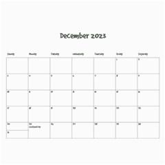 Simple Family Calendar 12 Month By Amanda Bunn   Wall Calendar 11  X 8 5  (12 Months)   Ds15i5ydhmpz   Www Artscow Com Dec 2014