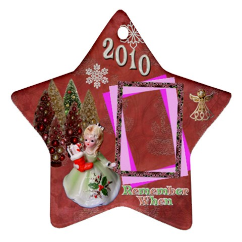 Irl Stocking Remember When 2010 Ornament 6 By Ellan   Ornament (star)   9r61oa05i99v   Www Artscow Com Front