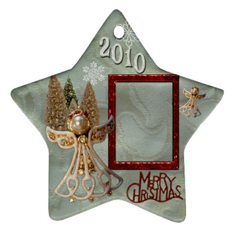 Angel Remember When 2010 Ornament 11 By Ellan   Ornament (star)   8fuecdlsh1bm   Www Artscow Com Front