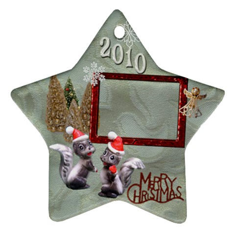 Skunk Remember When 2010 Ornament 12 By Ellan   Ornament (star)   Gviuyuvlfr5e   Www Artscow Com Front