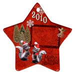 skunk Remember when 2010 ornament 13 - Ornament (Star)