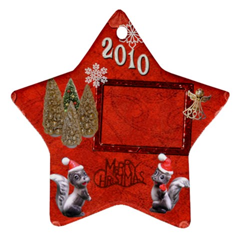 Skkunk Remember When 2010 Ornament 15 By Ellan   Ornament (star)   2fhg85rgafbn   Www Artscow Com Front