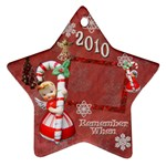 angel Remember when 2010 ornament 28 - Ornament (Star)