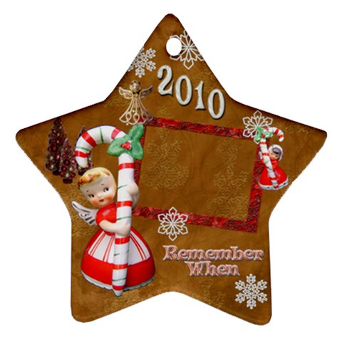 Angel Remember When 2010 Ornament 30 By Ellan   Ornament (star)   Jurvpfte0o4c   Www Artscow Com Front