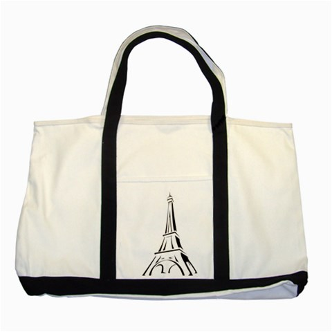 Pairs By Wood Johnson   Two Tone Tote Bag   Mintdgsr4knl   Www Artscow Com Front